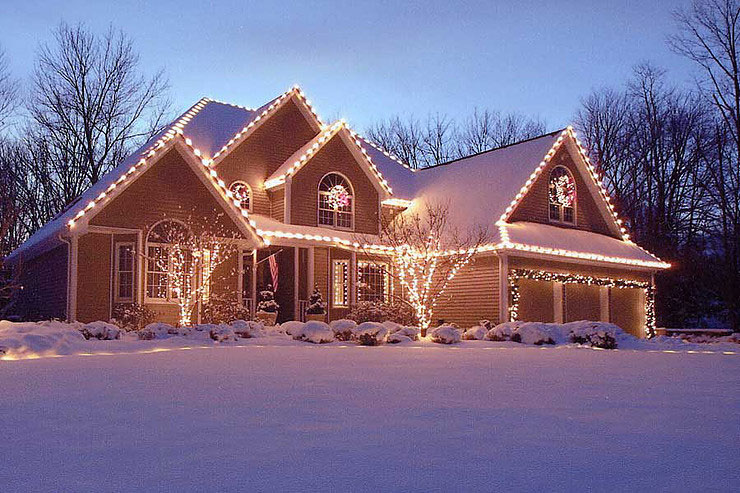 christmas decor - Home Christmas Lights