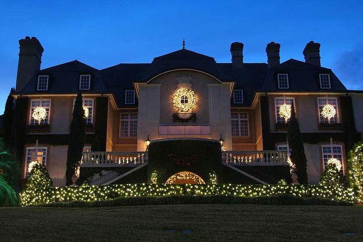 Christmas Light Installation St Louis