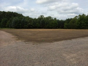 Before Valley Green Seeding